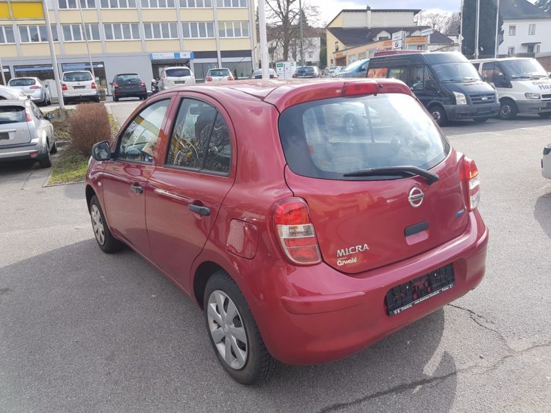verkauft nissan micra 1 2 5mt 80ps ace gebraucht 2013 km in monheim. Black Bedroom Furniture Sets. Home Design Ideas