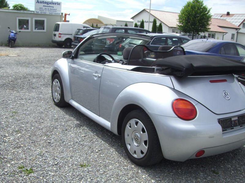 verkauft vw beetle newcabriolet 1 9 td gebraucht 2005. Black Bedroom Furniture Sets. Home Design Ideas