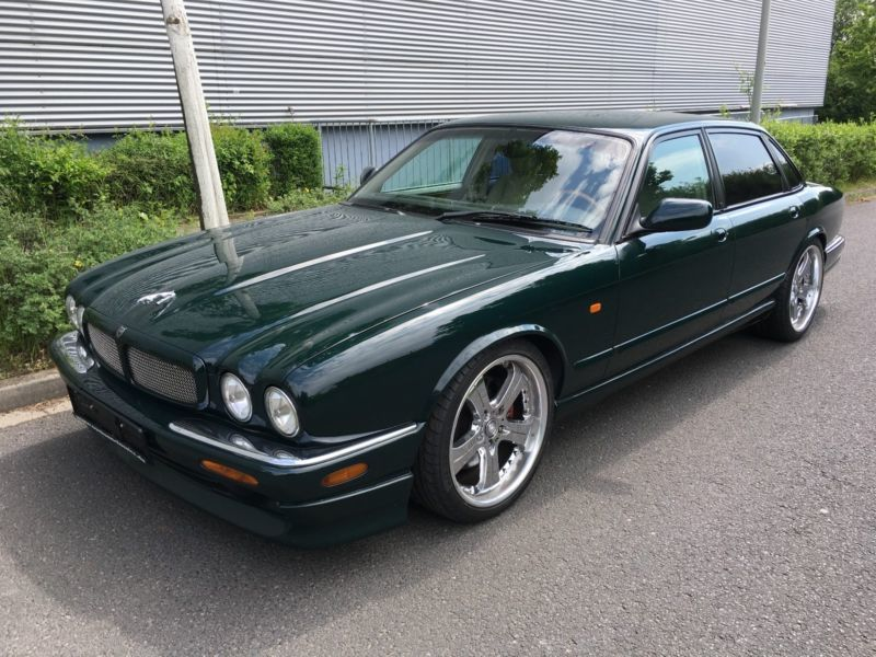 verkauft jaguar xjr 4 0 supercharged gebraucht 1999 km in dresden. Black Bedroom Furniture Sets. Home Design Ideas
