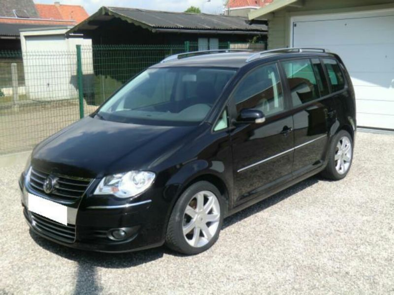 verkauft vw touran 1 9 tdi highline gebraucht 2007 135. Black Bedroom Furniture Sets. Home Design Ideas