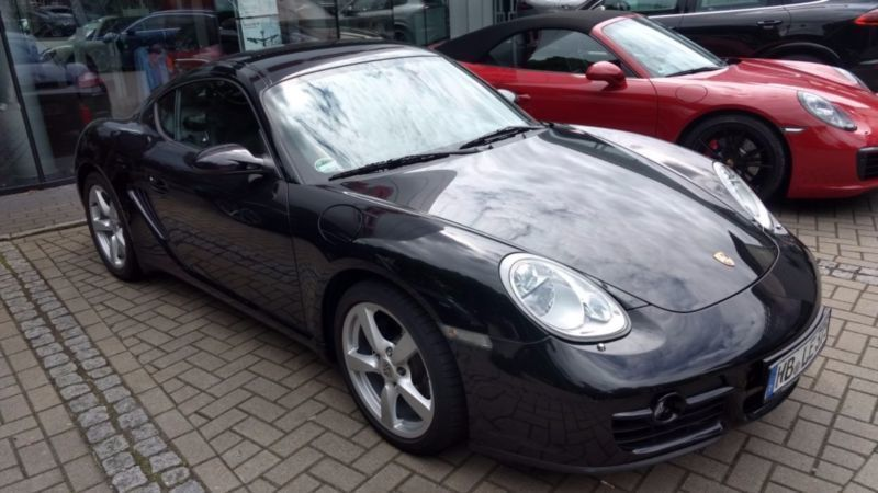 verkauft porsche cayman gebraucht 2008 km in bergisch gladbach. Black Bedroom Furniture Sets. Home Design Ideas