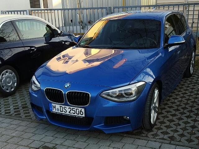 verkauft bmw 118 f20 i m paket finanzi gebraucht 2013 km in pasing. Black Bedroom Furniture Sets. Home Design Ideas