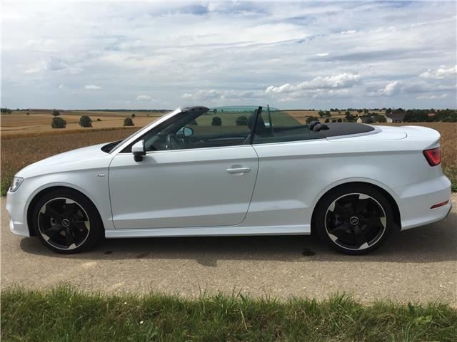 gebraucht ambition a3 cabrio amb 2 0 tdi 6 g audi a3 cabriolet 2015 km in erding. Black Bedroom Furniture Sets. Home Design Ideas