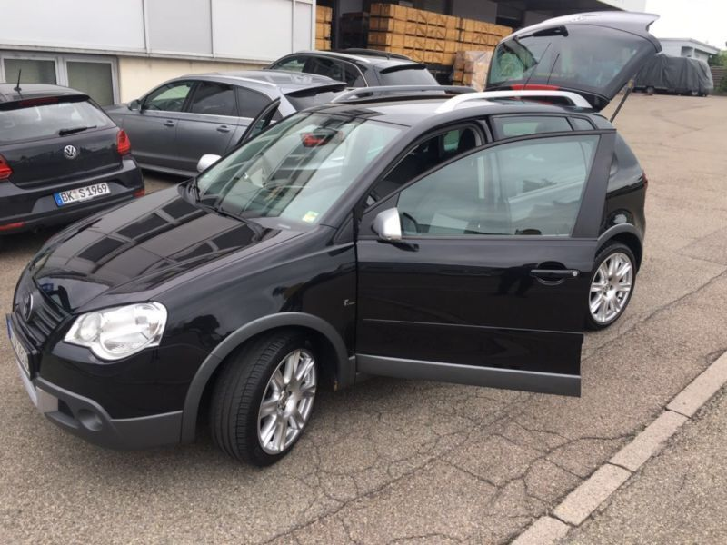 verkauft vw polo cross automatik freis gebraucht 2009 km in rudersberg. Black Bedroom Furniture Sets. Home Design Ideas
