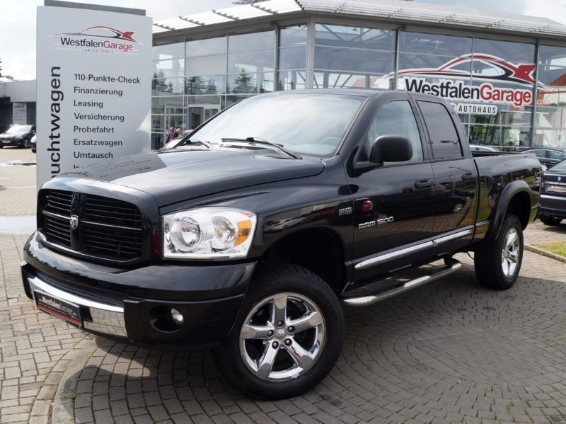 verkauft dodge ram 5 7 hemi 4x4 larami gebraucht 2007. Black Bedroom Furniture Sets. Home Design Ideas
