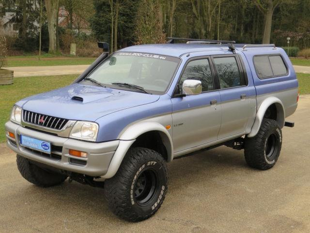 verkauft mitsubishi l200 pick up 4x4 gebraucht 2001 km in gronau. Black Bedroom Furniture Sets. Home Design Ideas