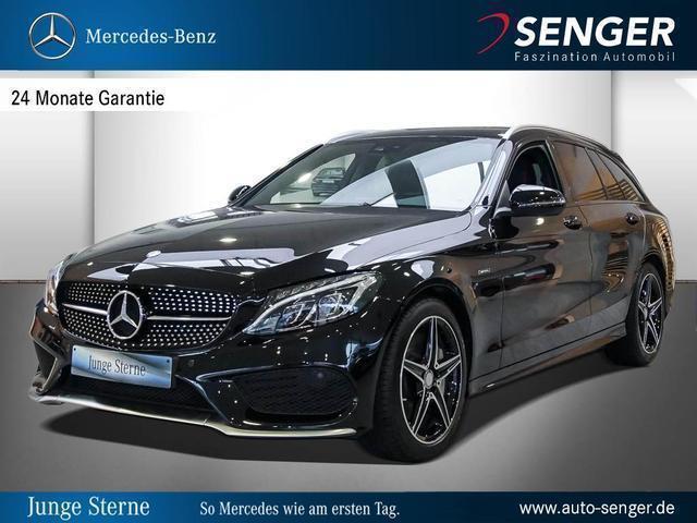 gebraucht Mercedes C43 AMG C-KlasseAMG 4MATIC T-Modell Park-Assist ILS-LED
