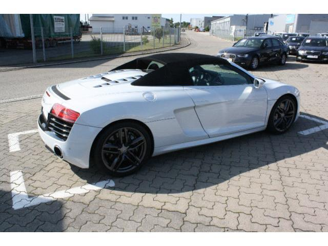 verkauft audi r8 spyder 5 2 keramik br gebraucht 2014 km in hechingen. Black Bedroom Furniture Sets. Home Design Ideas
