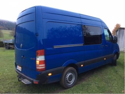 verkauft mercedes sprinter mixto 6 sit gebraucht 2011 km in bad salzungen. Black Bedroom Furniture Sets. Home Design Ideas