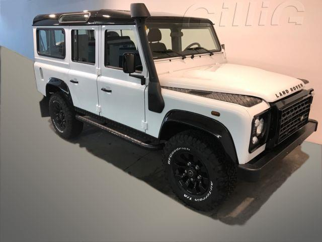 verkauft land rover defender sw 110 2 gebraucht 2011 km in d sseldorf. Black Bedroom Furniture Sets. Home Design Ideas