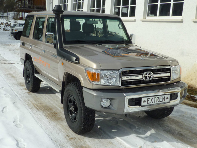 verkauft toyota land cruiser hzj76 mj2 gebraucht 2012 km in beuron hausen. Black Bedroom Furniture Sets. Home Design Ideas