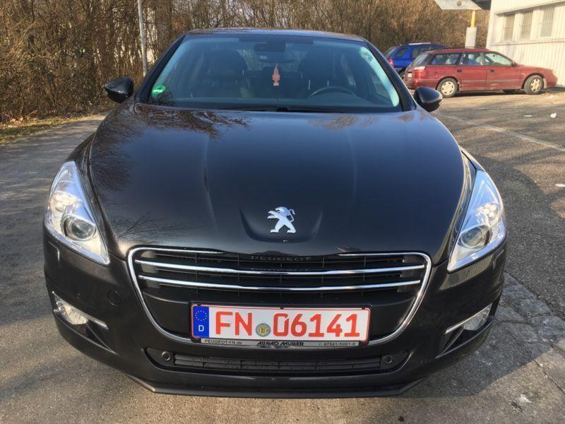 verkauft peugeot 508 active limousine gebraucht 2011 km in friedrichshafen a. Black Bedroom Furniture Sets. Home Design Ideas