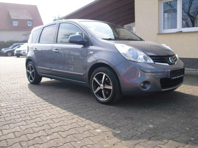 gebraucht 1 4 visia nissan note 2012 km in hannover. Black Bedroom Furniture Sets. Home Design Ideas