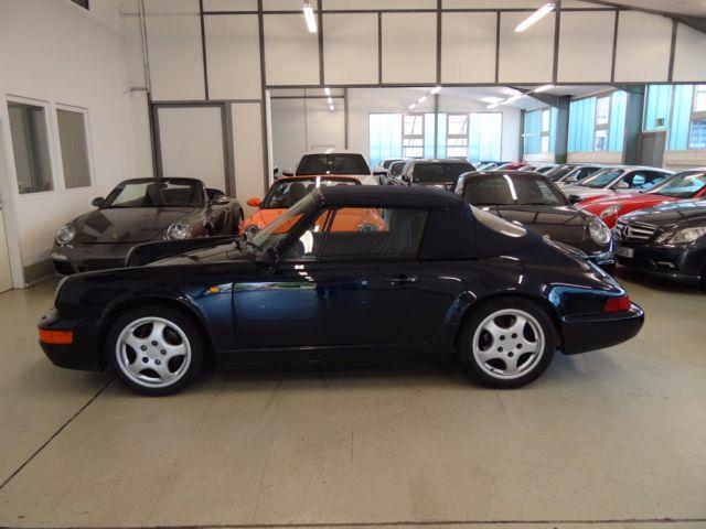 verkauft porsche 911 carrera cabriolet gebraucht 1991 km in recklinghausen. Black Bedroom Furniture Sets. Home Design Ideas