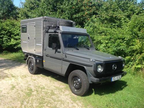 verkauft mercedes g290 d pickup wohnka gebraucht 1992 km in m lln. Black Bedroom Furniture Sets. Home Design Ideas