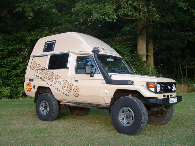verkauft toyota land cruiser hzj 78 wo gebraucht 2001 km in ellingen. Black Bedroom Furniture Sets. Home Design Ideas