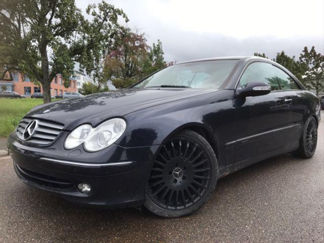 verkauft mercedes clk320 clk coupe clk gebraucht 2003 km in holzgerlingen. Black Bedroom Furniture Sets. Home Design Ideas