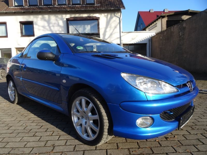 verkauft peugeot 206 cc cabriolet gebraucht 2003 km in bremen. Black Bedroom Furniture Sets. Home Design Ideas