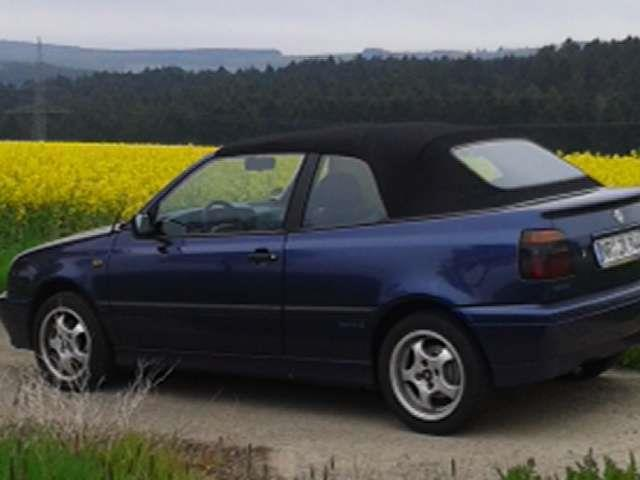 verkauft vw golf cabriolet cabrio 1 8 gebraucht 1994 km in dierdorf wienau. Black Bedroom Furniture Sets. Home Design Ideas