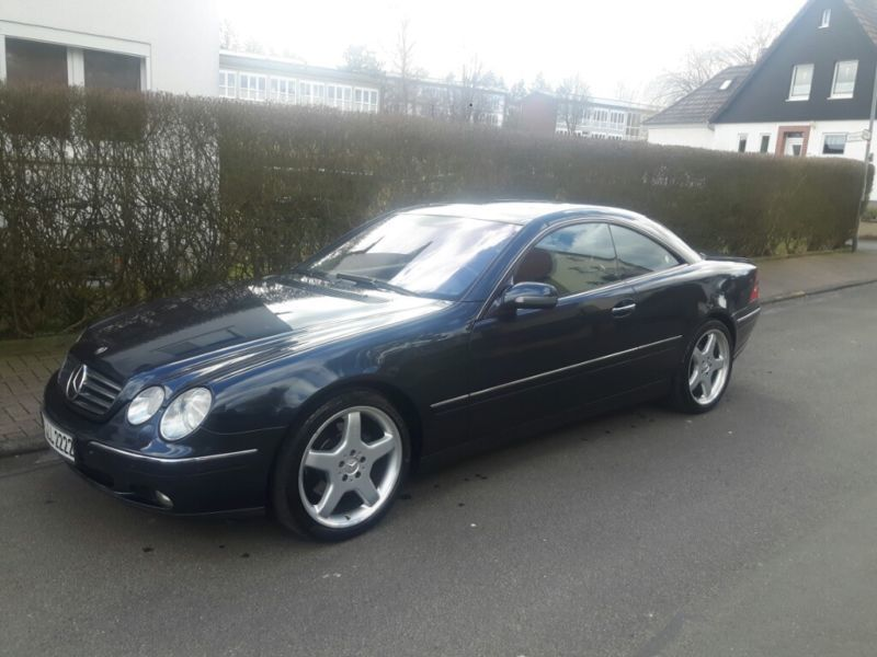 verkauft mercedes cl500 topzustand sch gebraucht 2000 km in blumberg. Black Bedroom Furniture Sets. Home Design Ideas