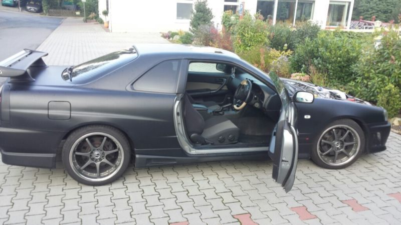 verkauft nissan skyline gebraucht 1999 km in. Black Bedroom Furniture Sets. Home Design Ideas