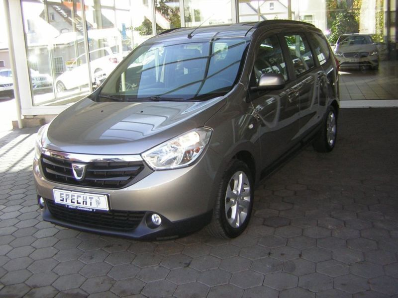 gebraucht tce 115 prestige navi parktronic dacia lodgy 2013 km in enger. Black Bedroom Furniture Sets. Home Design Ideas