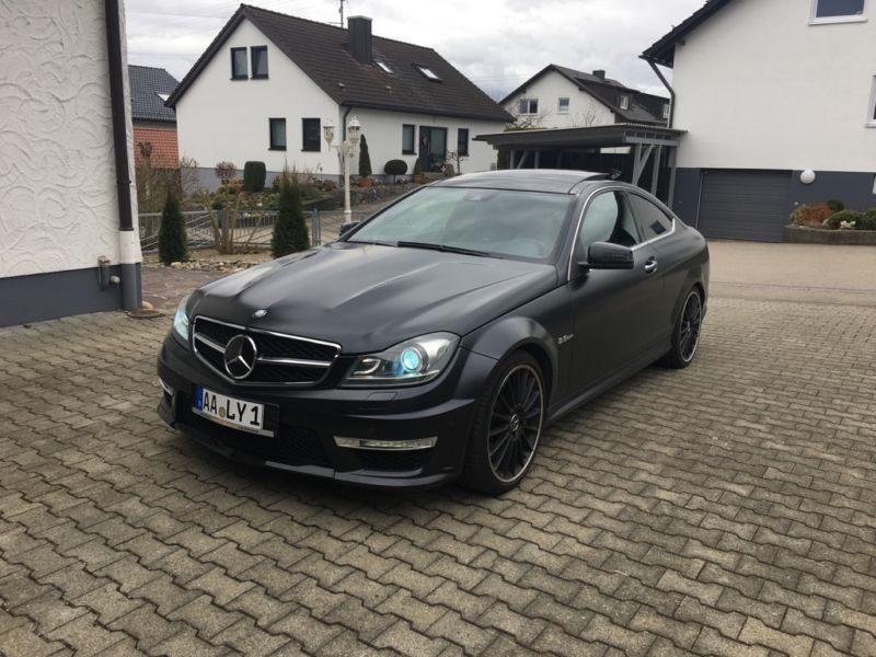 verkauft mercedes c63 amg amg coupe ma gebraucht 2011 km in aalen. Black Bedroom Furniture Sets. Home Design Ideas