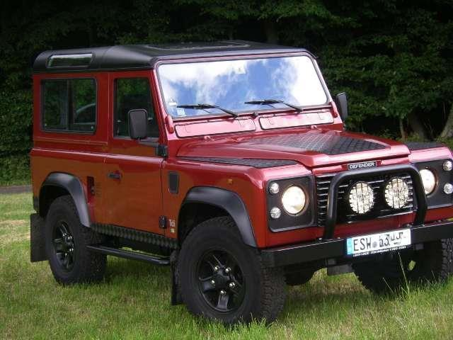 verkauft land rover defender 90 tdi gebraucht 1997 km in scheuerfeld. Black Bedroom Furniture Sets. Home Design Ideas