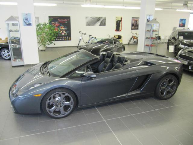 verkauft lamborghini gallardo spyder gebraucht 2008. Black Bedroom Furniture Sets. Home Design Ideas