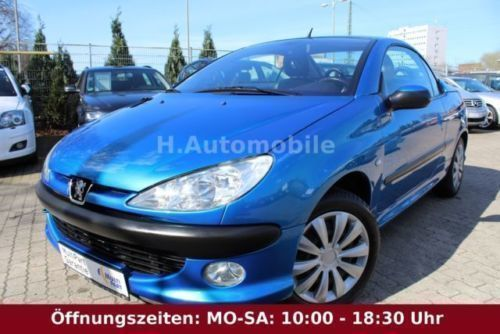 verkauft peugeot 206 cc cc leder 2 han gebraucht 2003 km in hamburg. Black Bedroom Furniture Sets. Home Design Ideas