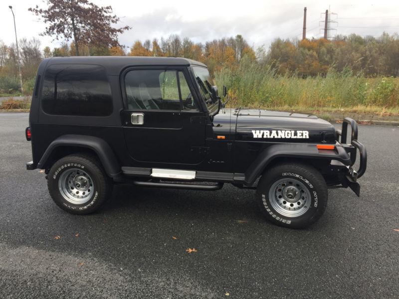 verkauft jeep wrangler 4 0 gebraucht 1993 km in. Black Bedroom Furniture Sets. Home Design Ideas