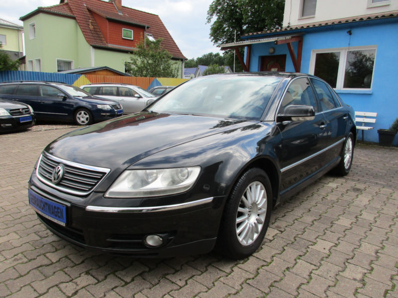 verkauft vw phaeton 3 0 v6 tdi 4m auto gebraucht 2005 km in vogelsdorf. Black Bedroom Furniture Sets. Home Design Ideas