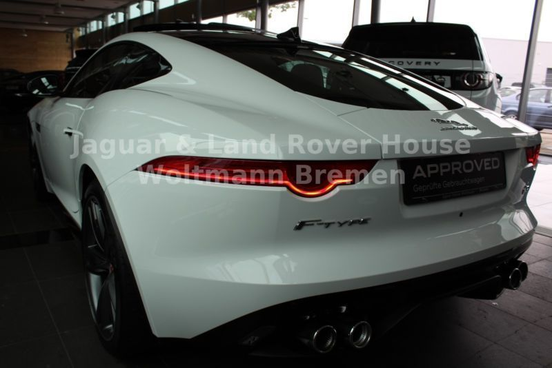 verkauft jaguar f type coupe r panora gebraucht 2014 km in bremen. Black Bedroom Furniture Sets. Home Design Ideas