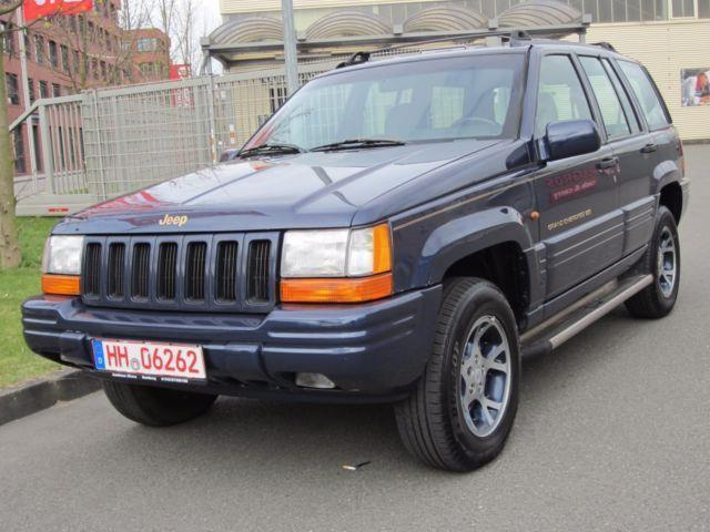 verkauft jeep grand cherokee 5 2 limit gebraucht 1996 km in hamburg. Black Bedroom Furniture Sets. Home Design Ideas