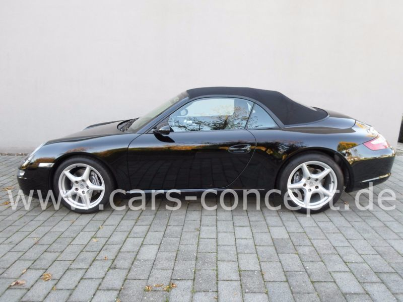 verkauft porsche 997 cabrio gebraucht 2006 km in kohlberg. Black Bedroom Furniture Sets. Home Design Ideas
