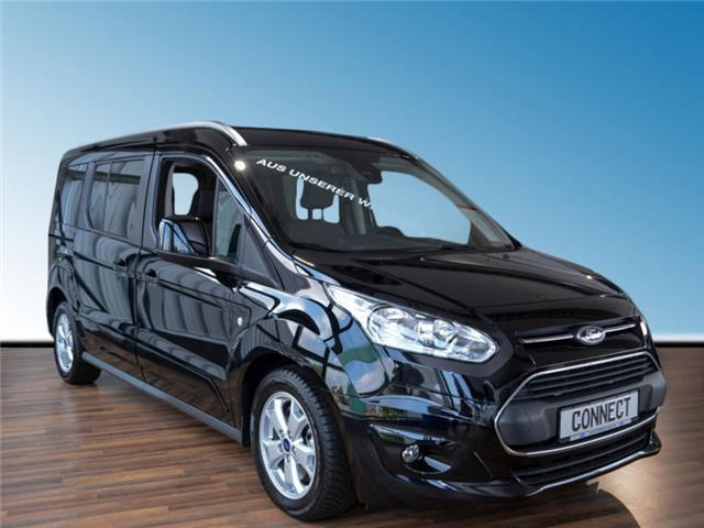 verkauft ford tourneo connect grand 1 gebraucht 2017 km in d sseldorf. Black Bedroom Furniture Sets. Home Design Ideas