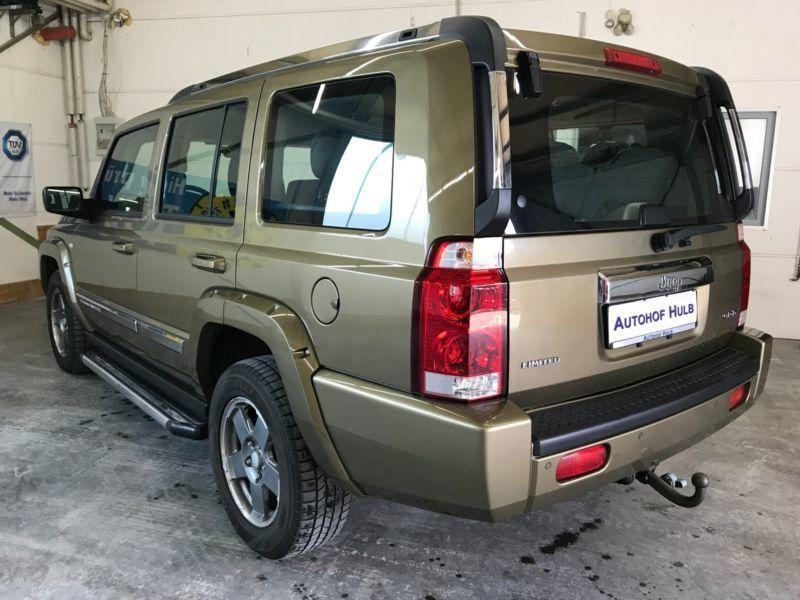 verkauft jeep commander 3 0 v6 crd lim gebraucht 2010 km in weil im sch nbuch. Black Bedroom Furniture Sets. Home Design Ideas