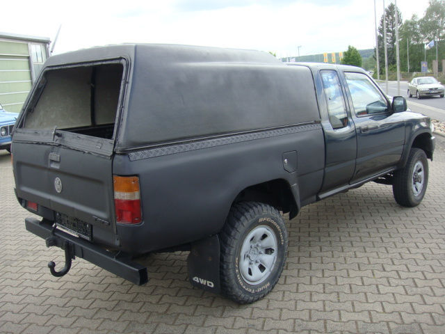 verkauft vw taro 2 5 d pickup 4x4 7ax1 gebraucht 1997. Black Bedroom Furniture Sets. Home Design Ideas