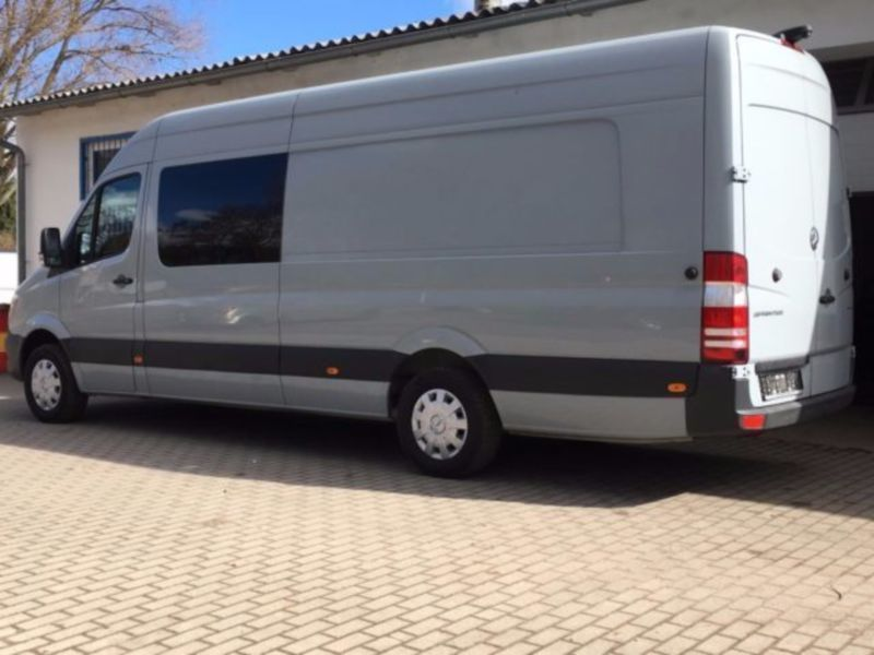 verkauft mercedes sprinter 316 pkw 9 gebraucht 2013. Black Bedroom Furniture Sets. Home Design Ideas