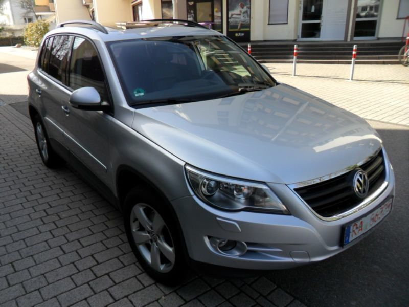 verkauft vw tiguan 2 0 tdi dpf 4motion gebraucht 2007 km in dresden. Black Bedroom Furniture Sets. Home Design Ideas
