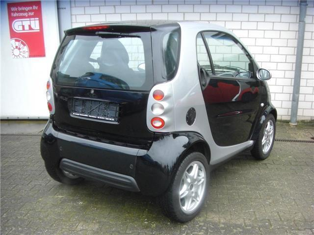 verkauft smart fortwo coup passion a gebraucht 2001 km in bornheim. Black Bedroom Furniture Sets. Home Design Ideas