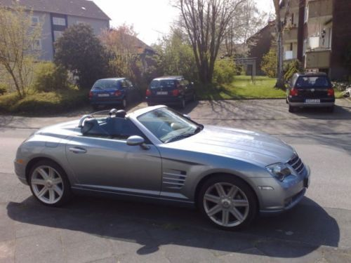 verkauft chrysler crossfire roadster a gebraucht 2006 km in berlin. Black Bedroom Furniture Sets. Home Design Ideas