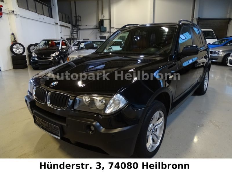 verkauft bmw x3 navi ah gebraucht 2004 km in heilbronn. Black Bedroom Furniture Sets. Home Design Ideas