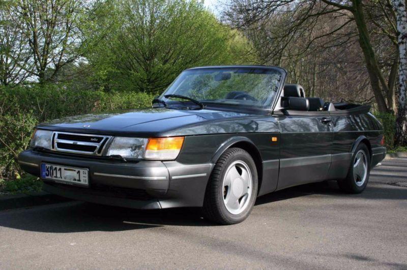verkauft saab 900 cabriolet turbo 16s gebraucht 1993. Black Bedroom Furniture Sets. Home Design Ideas