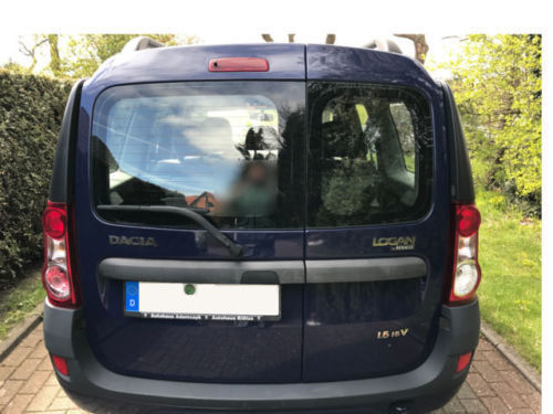 gebraucht ambiance lpg dacia logan mcv 2007 km. Black Bedroom Furniture Sets. Home Design Ideas