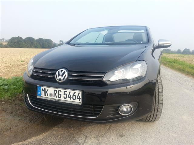 gebraucht cabrio 2 0 tdi bmt dsg karmann vw golf cabriolet 2014 km in balve. Black Bedroom Furniture Sets. Home Design Ideas