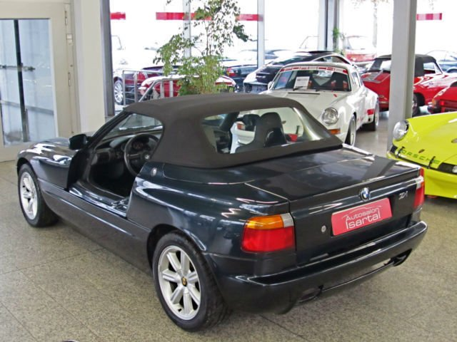 verkauft bmw z1 traumschwarz schec gebraucht 1989. Black Bedroom Furniture Sets. Home Design Ideas