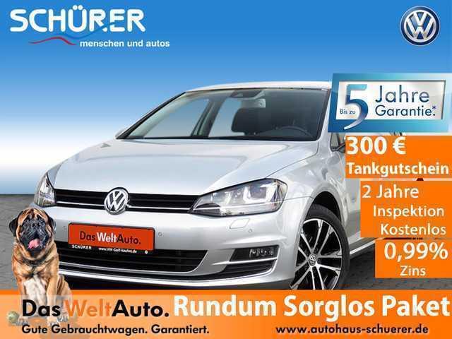 gebraucht VW Golf VII Allstar-Plus 1.4 TSI Xeno*Blind*RüKamera