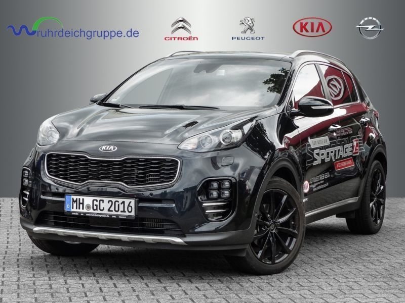 verkauft kia sportage 2 0 crdi awd gt gebraucht 2016 9. Black Bedroom Furniture Sets. Home Design Ideas