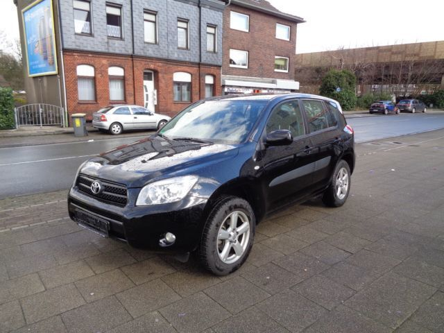 verkauft toyota rav4 2 0 4x4 automatik gebraucht 2008 km in oberhausen. Black Bedroom Furniture Sets. Home Design Ideas